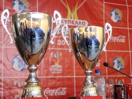 Παιχνίδια Knockout για το κύπελο Coca Cola Κύπρου 2021
