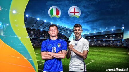 """Tip of the day 11/07/2021 by Meridianbet: """"It's coming home"""" ή """"It's coming Rome"""""""