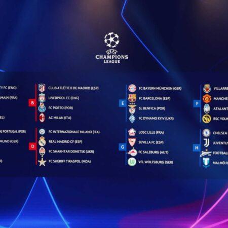 Κλήρωση των ομίλων του Champions League με παιχνίδια φωτιά από νωρίς!!!